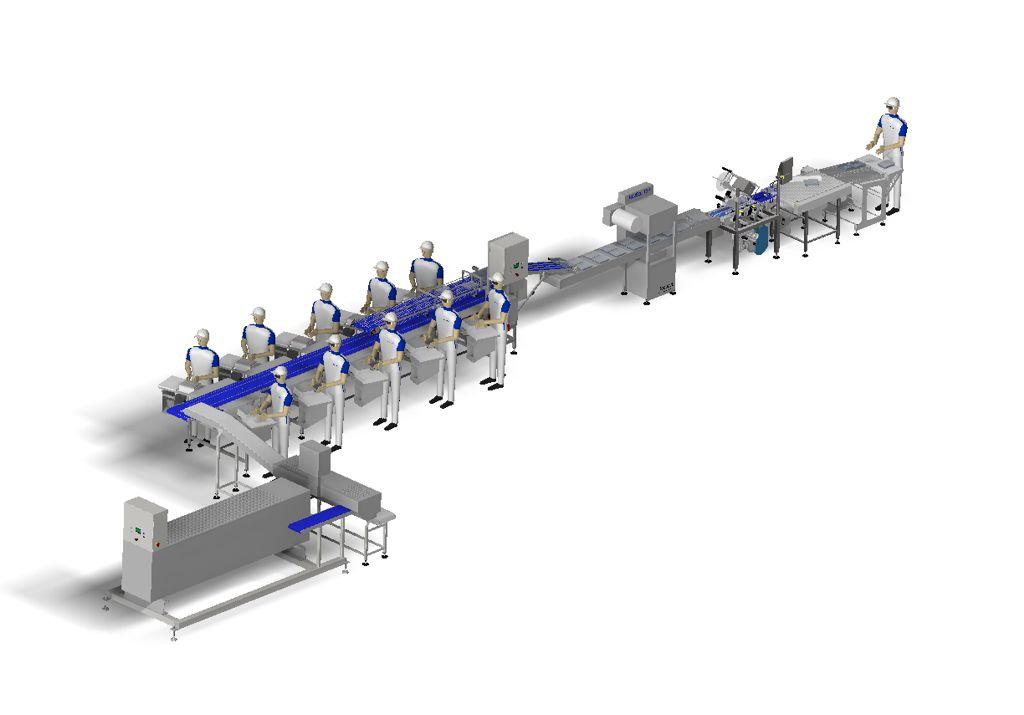 Linia produkcji szaszłyków