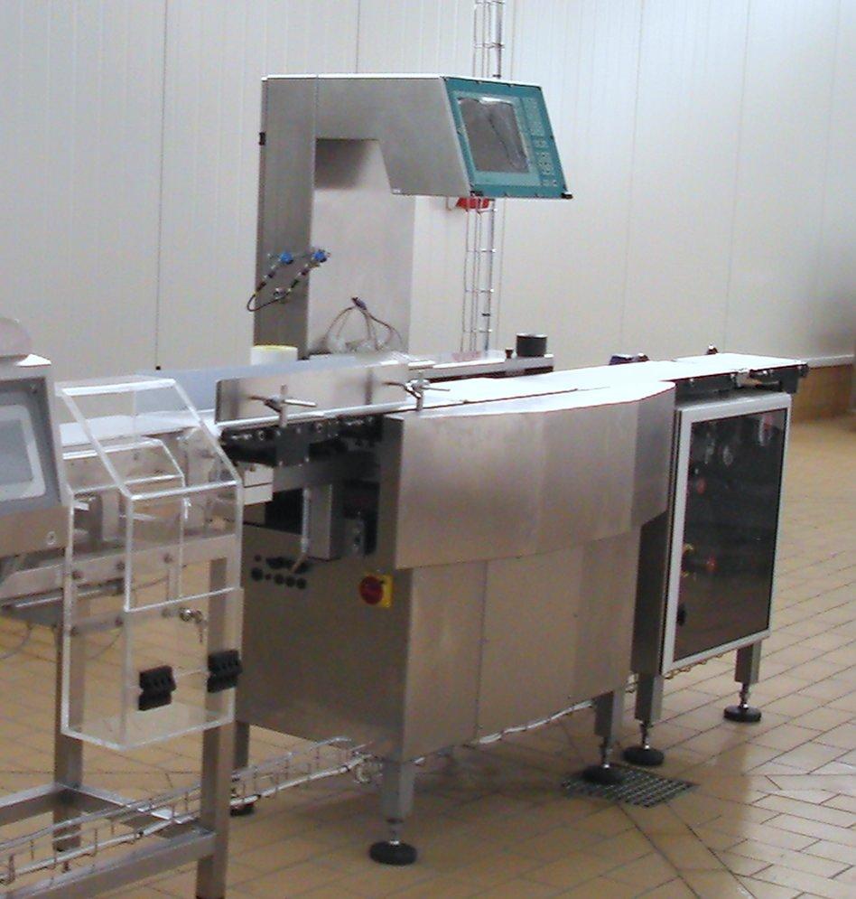Waga etykietująca dynamiczna PAW 2000 Lech und Mehl z drukarką od dołu