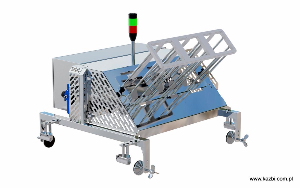 Automatyczny podajnik podkładów higroskopijnych PAD